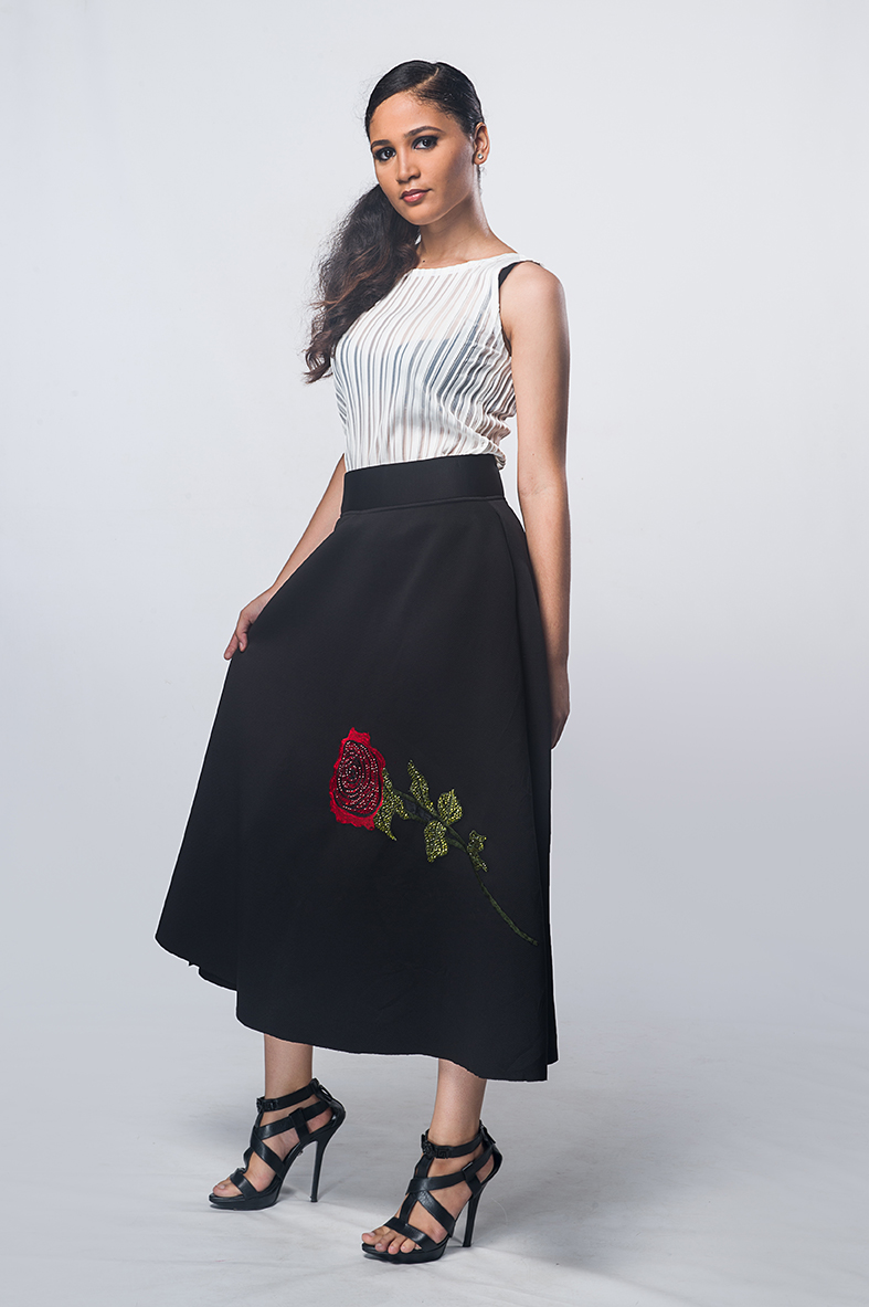 Winny rose skirt