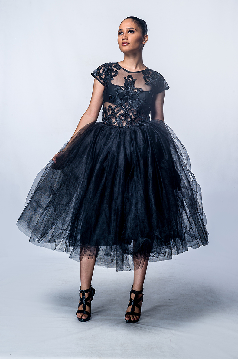 Tina tulle dress
